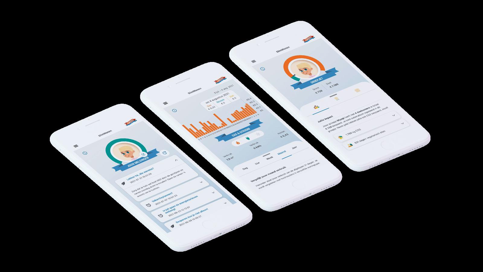 Mobile application for SlimWonen